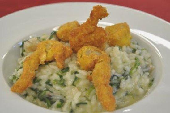 La Bucascia Restaurante: risottino alle rane
