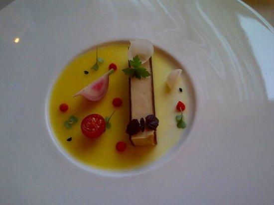 Salon Fine Dining Restaurant: Smooth foie gras