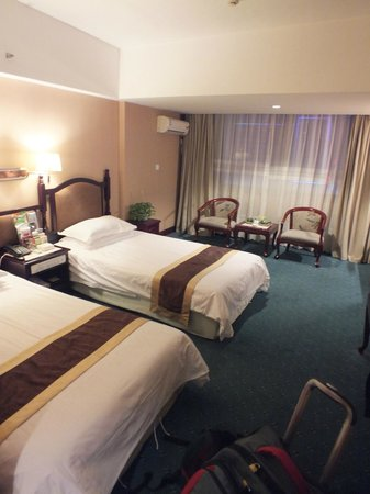 Red Coral Hotel: Twin room