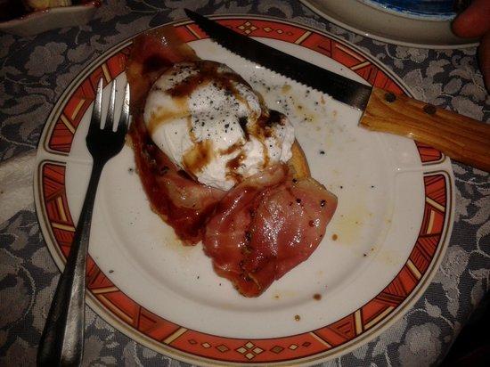 Casale Gregoriano: Colazione con uovo in camicia