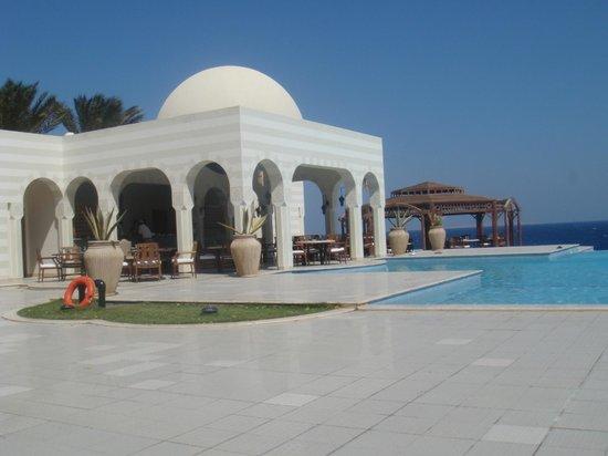The Oberoi Sahl Hasheesh: Zalig rustig aan het zwembad