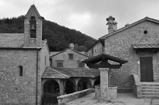 Chiusi della Verna, Italie : vista complessiva