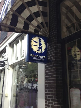 PANCAKES Amsterdam Negen Straatjes: sign