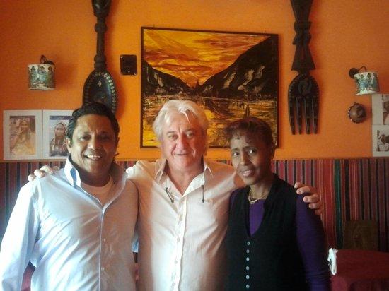 """Africa - Ristorante Tipico Etiopico-Eritreo: colazione con gli amici con gli amici al ristorante etiope """"africa"""""""