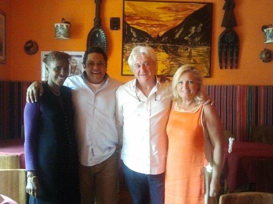 """Africa - Ristorante Tipico Etiopico-Eritreo: con gli amici al ristorante etiope """"africa"""""""