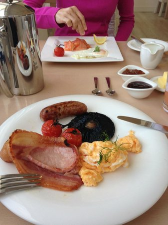 Boskerris Hotel: Traditional English breakfast