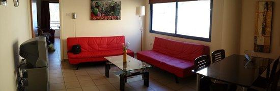 Vrachia Beach Hotel & Suites: Sala