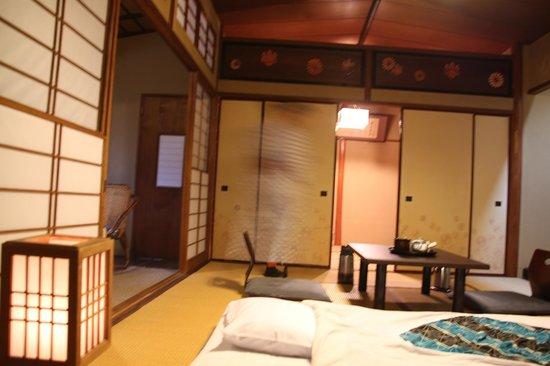 Fukuzumiro Ryokan : Habitación con vistas al jardin