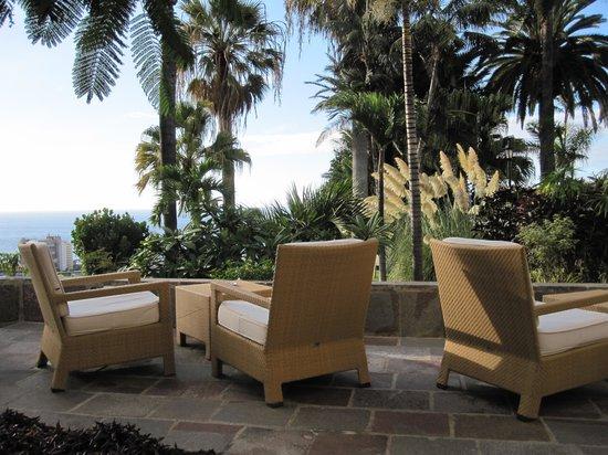 Hotel Tigaiga: Terasse