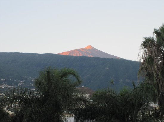 Hotel Tigaiga: Der Teide am Morgen