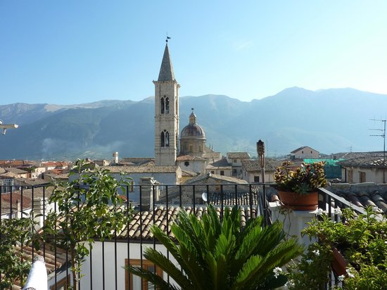B&B Il Marchese del Grillo: view from rooftop terrace