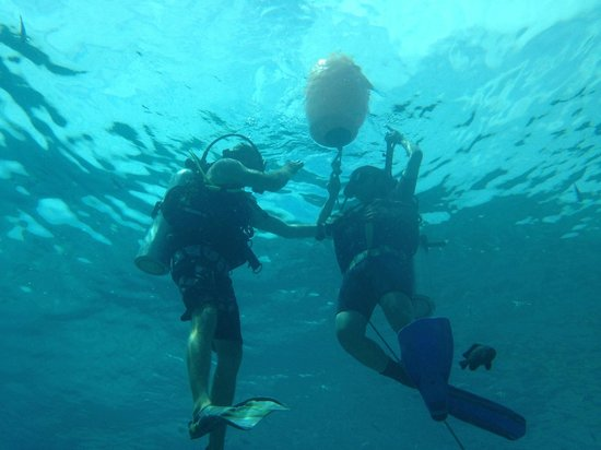 Andys Scuba Diving Phuket: Brem and my friend on the first dive