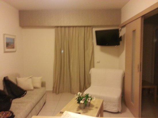 Hotel Philip: Livingroom
