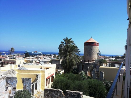 Minos Pension & Roof Garden Lounge : From the roof of Minos Pension