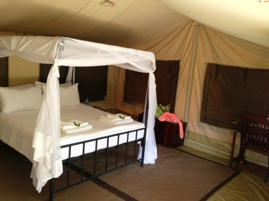 Sentinel Mara Camp: the rooms