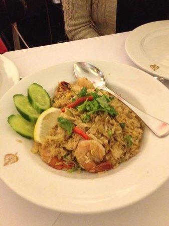 Thai Pothong: Chicken and Prawn Fried Rice