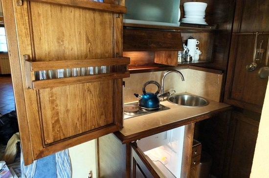 Sarna Residence: le coin cuisine