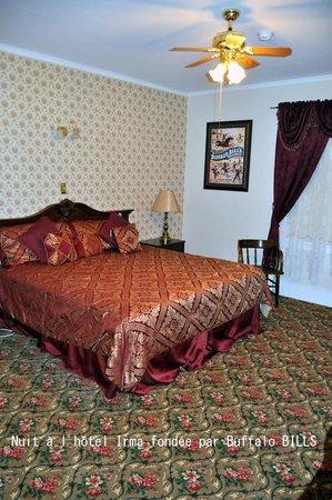 Buffalo Bill's Irma Hotel: Notre chambre