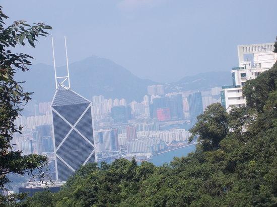 แบงค์ออฟไชน่า ทาวเวอร์: bank of china tower - grattacielo visto da victoria peak