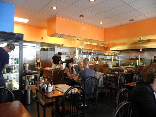 Darren's Cafe: Il locale