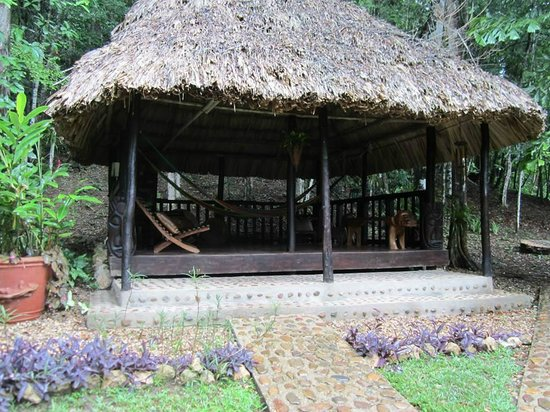 Table Rock Jungle Lodge: The game hut.