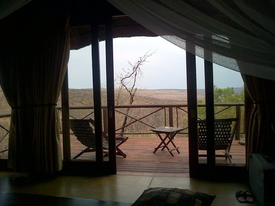 Nungubane Game Lodge : Our view from our room
