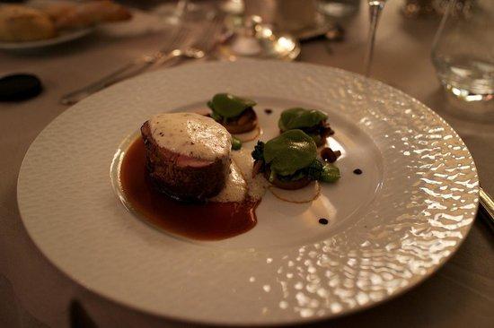 Restaurant L'Origan, du Château d'Artigny : Говядина Шатобриан фаршированная фуа-гра
