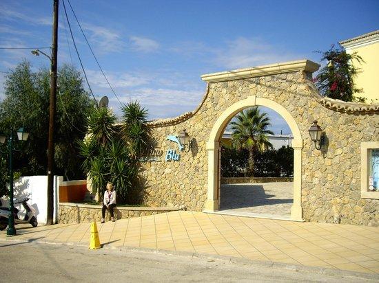 Delfino Blu Boutique Hotel: Front entrance