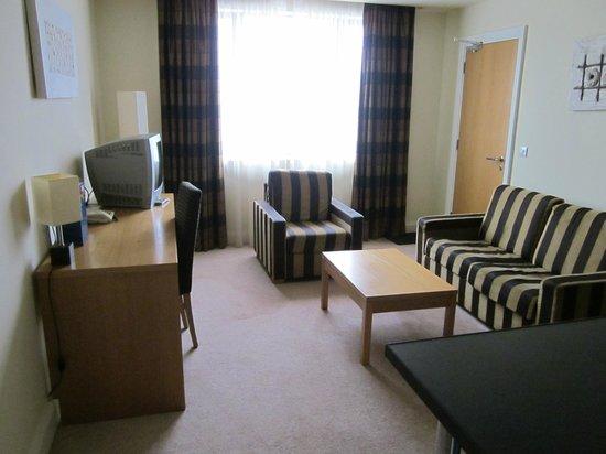 The Connacht Hotel: salotto