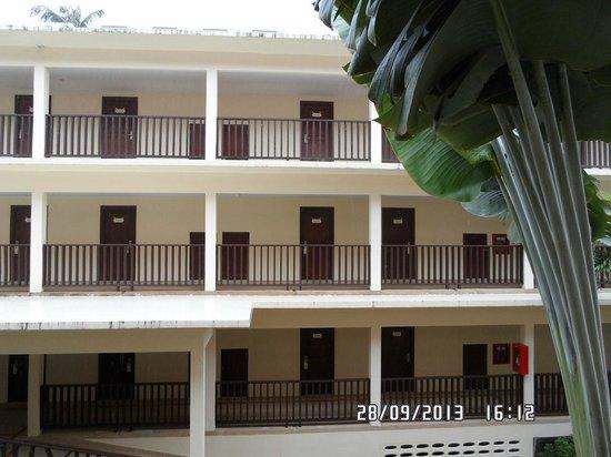 Baan Boa Resort : Corridor