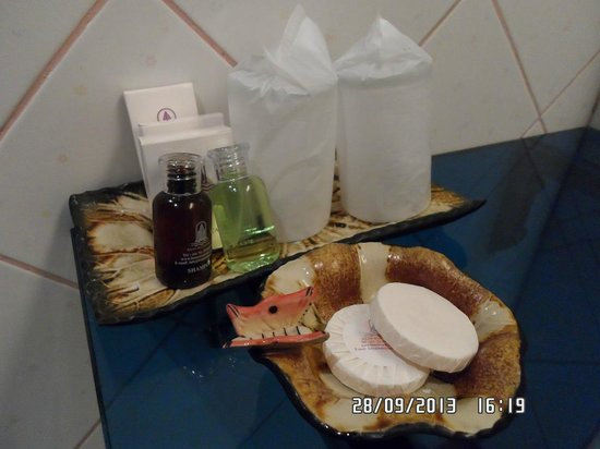 Baan Boa Resort : Bathroom Amenities