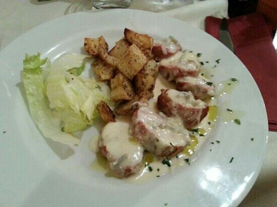 Bagus Wine & Food: filetto di maiale con gorgonzola