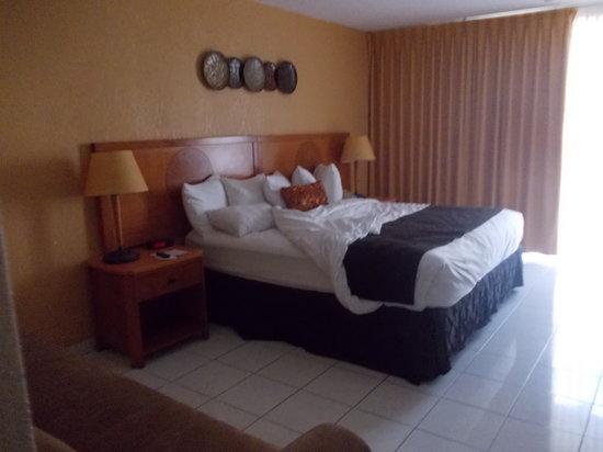 Ramada Plaza Marco Polo Beach Resort: quarto 1º andar