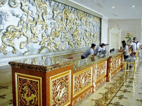 Guo'an Holiday Hotel: reception
