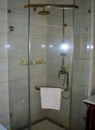 Lichuan County, China: Room 8503 bathroom