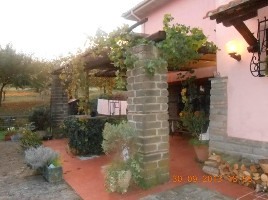 Agriturismo L.B. Stud di Riccioni G. : il patio