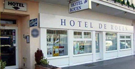Hotel De Rouen: The Hotel from outside
