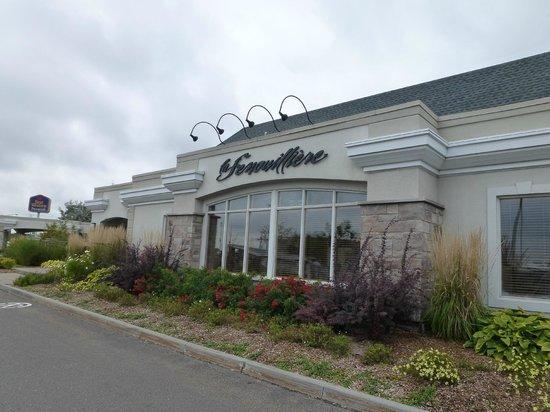 Best Western Premier Hotel l'Aristocrate : Restaurant where they serve breakfast