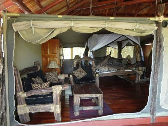Royal Mara Safari Lodge : La ns. tenda