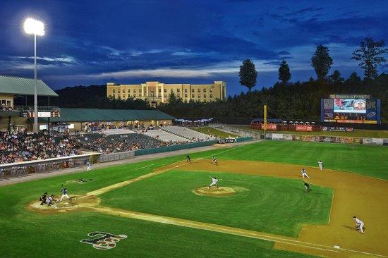 Hampton Inn & Suites Sevierville @ Stadium Drive: Smokies AA Baseball Stadium