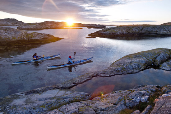 Kayaking in Bohuslän - West Sweden
