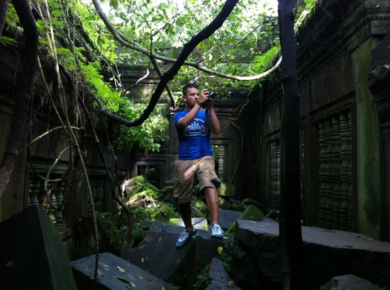 Chhayakim Private Angkor Wat Tours: Indiana Jones temple