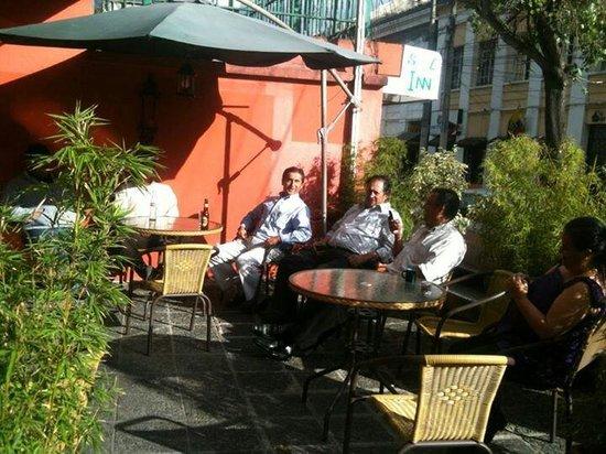 Fonfone Cafe: Exteriores de nuestro cafe!