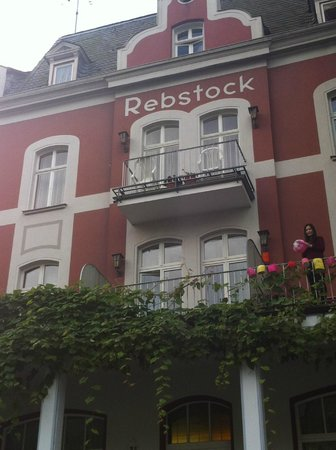Hotel Rebstock: Outlook of Rebstock