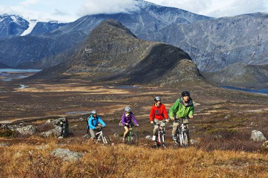 Valles del Este, Noruega: Biking at Beitostølen. Photo: Terje Rakke / Nordic Life AS - Visitnorway.com