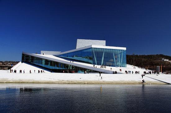 Valles del Este, Noruega: The Norwegian Opera and Ballet in Oslo.