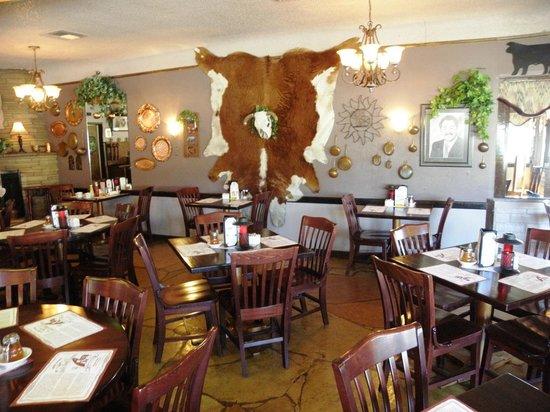 Rod's Steak House : L'interno del locale