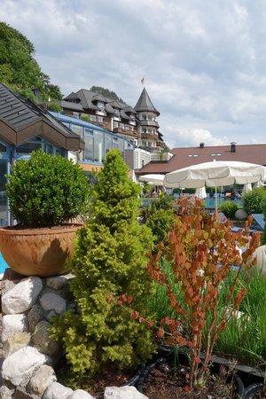 Hotel Ebner's Waldhof am See: Blick auf die Villa