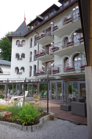 Hotel Ebner's Waldhof am See: Ansitz