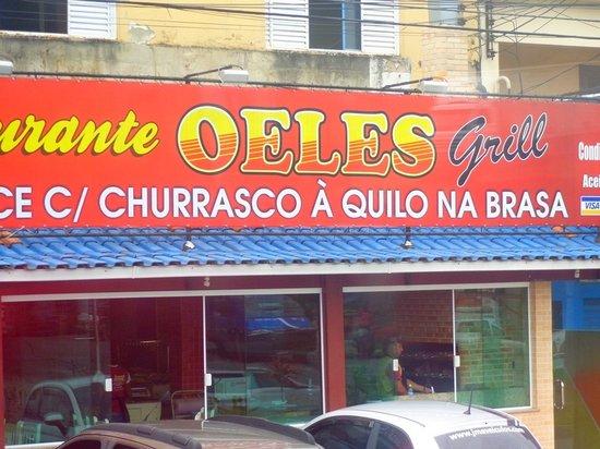 Restaurante Oeles Grill: entrada local
